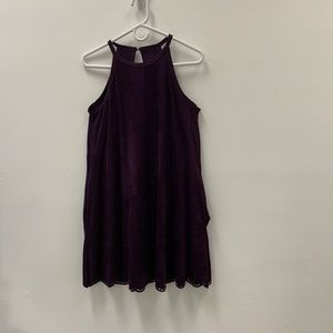 Alya Purple Boutique Midi Dress